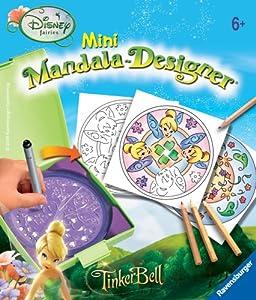 Ravensburger 29978 Disney Fairies - Juego Creativo para diseñar Mandalas de Hadas (tamaño pequeño)