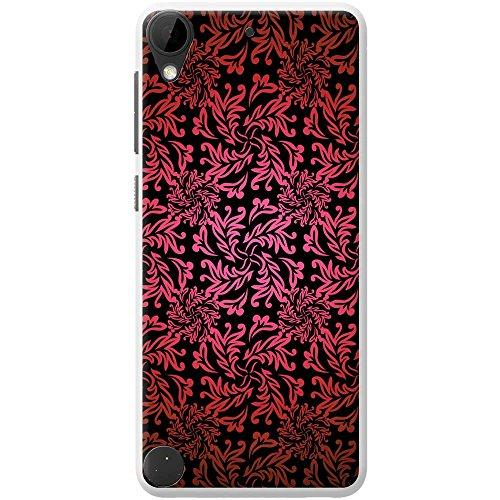 Papier peint floral élégant étui rigide pour téléphone portable, plastique, violet, Apple iPhone 6 Plus Rot