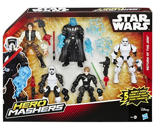 Star Wars Hero Mashers Action Figuren 15 cm Multipack 2015 Episode VI