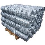 50m Aquagart® Wildzaun Forstzaun Weidezaun Drahtzaun Knotengeflecht 150/12/30