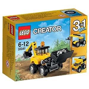LEGO - 31041 - Creator - Jeu de Construction - Les Véhicules de Chantier
