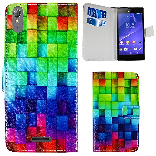 Sony Xperia Style T3 PU Flip stand case bag cover...
