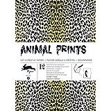 Animal Prints - Volume 29. 12 grandes feuilles de papiers cadeaux & créatifs de haute qualité.