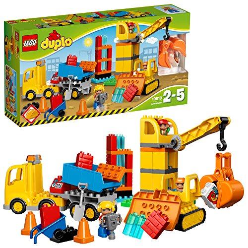 Us-armee Basis (LEGO Duplo 10813 - Große Baustelle, Ideales Spielzeug fuer Kleinkinder, große Bausteine)