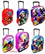Kids New Disney Marvel Wheeled Trolley Bag Suitcases