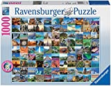 Ravensburger 99 Beautiful Places On Earth, 1000pc Jigsaw Puzzle