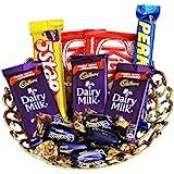 Sfu E Com Chocolate Gift Basket - 12 Pcs