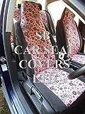 Mazda Bongo Housses ensemble complet–Cerise Rose Style Fleur