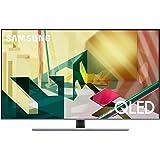 """Samsung TV QE55Q74TATXZT Serie Q70T Modello Q74T QLED Smart TV 55"""", con Alexa integrata, Ultra HD 4K, Wi-Fi, Silver, 2020, Es"""