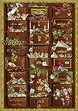 Nostalgische Weihnachtskommode. Adventskalender