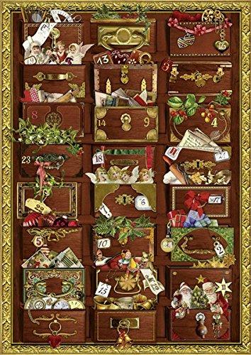 Preisvergleich Produktbild Nostalgische Weihnachtskommode. Adventskalender