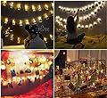 Tomshine 40 Leds Foto Clips Lichterkette, Warmweiß Lichterkette, 5m/40 Foto-Clips, Batteriebetrieben Stimmungsbeleuchtung, Dekoration für Wohnzimmer, Bar, Cafe, Weihnachten, Hochzeiten, Party