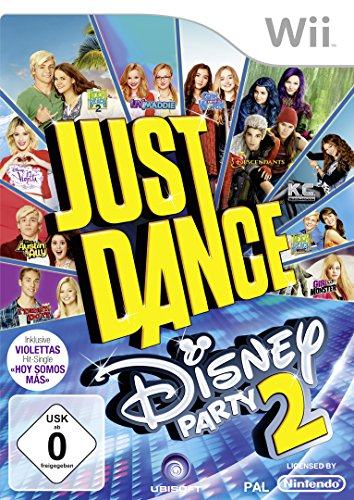 Just Dance Disney Party 2 - [Wii] - Wii 2 Party