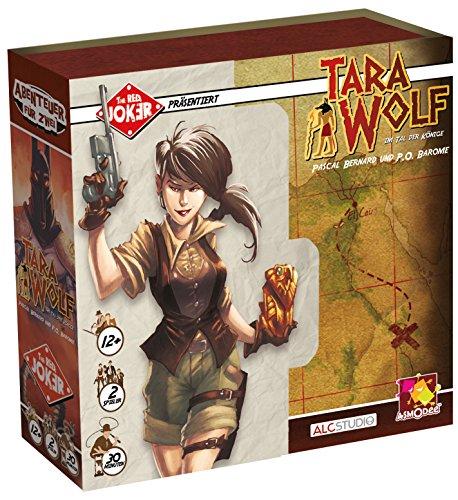 Asmodée ALC0001 Juego de Cartas-Tara Wolf-Im Tal Der Könige