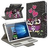 Robuste Schutzhülle für Ihr Acer Iconia Tab 10 A3-A50 Tablet aus Kunstleder...