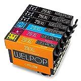 WELPOP 29xl cartuchos de tinta reemplazo para Epson 29 xl, (6 Pack) compatible para Epson expression...