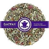 Núm. 1356: Té de hierbas 'Mañana herbal' - hojas sueltas - 500 g - GAIWAN GERMANY - rooibos, rosa mosqueta, phillyrea, semillas de hinojo, menta, limoncillo, fresa y zarzamora, vainilla