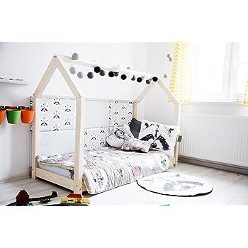 Oliveo Hausbett Kinderhaus Bett Fur Kinder Kinderbett Massivholz