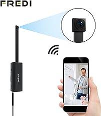 FREDI Microcamera spia HD 1080P con rete Wi-Fi Telecamera nascosta modulare P2P fai da te senza fili con sensore di movimento - Videocamera DV Digital Video Recorder