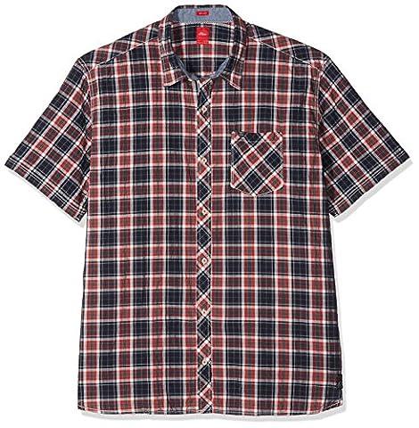 s.Oliver Big Size Herren T-Shirt 15705222102 Blau (Indigo 58N3), XX-Large