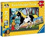 Ravensburger 08869 - Yakari e il suo cavallo, Set 2 puzzle da 24 pezzi
