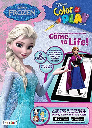 Frozen Color Play Ultimate Activity Book