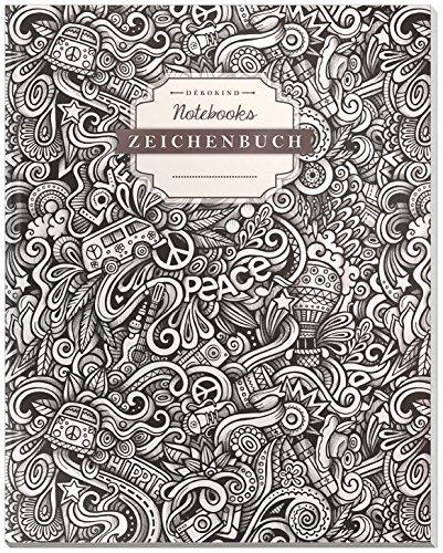 DÉKOKIND Zeichenbuch | DIN A4, 122 Seiten