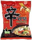 Nong Shim Nouilles Instantanées Shin Ramyun 120 g - Pack de 20...