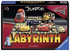 Ravensburger- Disney/Pixar Cars 3 Junior Labyrinth Juego (21273)