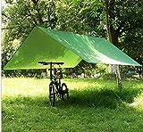 Zeltplane Abdeckplane Regen Schutzplane Tent Tarp Outdoor Camping Reise Grün