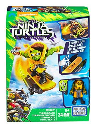 Mega Bloks Tortugas Ninja Película 2 - Turbo monopatín