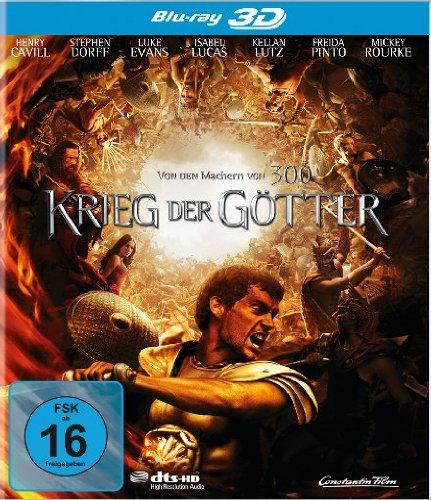 Highlight Krieg der Götter [3D Blu-ray]