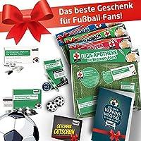 Geschenk-Set: Die Liga-Apotheke f/ür Bielefeld-Fans Fan-Schal Die besten Fanartikel der Liga Home Away 3X s/ü/ße Schmerzmittel f/ür Bielefeld Fans Besser als Trikot