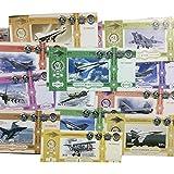 IMPACTO COLECCIONABLES 18 Banknoten aus MiG-Kampfflugzeuge - Jahr 2012