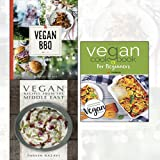 Vegan BBQ,Vegan Recipes from the Middle East,Vegan Cookbook For Beginners[Paperback] 3 Books Collection Set