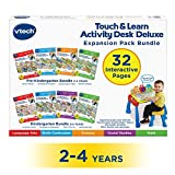 #3: VTech Touch and Teach Activity Desk Deluxe 4-in-1 Pre-Kindergarten Bundle Expansion Pack for Age 2-4