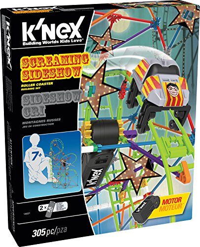 K 'NEX 14031 Thrill Rides Screaming Nebensache Achterbahn Building Set