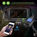 ONEVER FM34 Drehbare Bluetooth Car Kit FM Transmitter MP3-Player-Modulator mit QC3.0 Dual USB Car Charger Qualcomm Quick