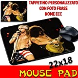 Best Mouse Pad 80s Musics - Guns N Roses – Mouse Pad – Groups Personalised Mouse Mat Review