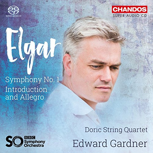 Elgar: Symphony No 1; Introduction And Allegro[ Doric Strong Quartet; BBC Symphony Orchestra ; Edward Gardner] [Chandos: CHSA 5181] Test