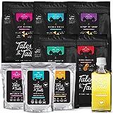 Tales & Tails® - Das volle Programm Leckerli, Snacks, Nassfutter und Öl für Hunde, Kabeljau, Dorsch, Lachs, Forelle, Shrimp, Rotbarsch, 100% Fisch pur, getreidefrei