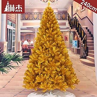 WZR 240cm Artificial Árbol De Navidad,Soporte En Metal Navidad Fácil De Montar Decoración Navideña Interior Exterior Fiestas