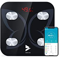 Bilancia Pesapersone Digitale, Hosome Bilancia Impedenziometrica Intelligente Bluetooth Analizzatore di Composizione…