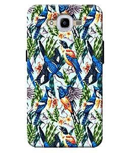 Blue Throat Printed Designer Back Cover For Samsung Galaxy J2 2016