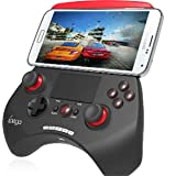 iPega PG-9028 Touch Pad Wireless Bluetooth Game Controller Gamepad for Android & iOS Device - Black/Blue