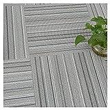 Boden Bodenbelag Vinylboden Dekorativer Teppich Wasserdichte Matte PVC-Bodenaufkleber Bodenkleber Dicke 2mm, 18 Größen (Color : B, Size : 100x100cm)