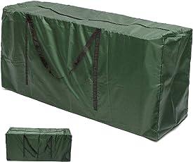 Tragetasche Gartenauflagen Schutzhülle für Auflagen Garten Polyestergewebe Gartenpolster Aufbewahrung Tasche Kissen 173x76x51cm