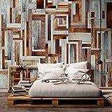 murando - Fotomurales PURO 10 m - Papel pintado tejido no tejido - madera Juntas parquet grismarron f-A-0080-j-c