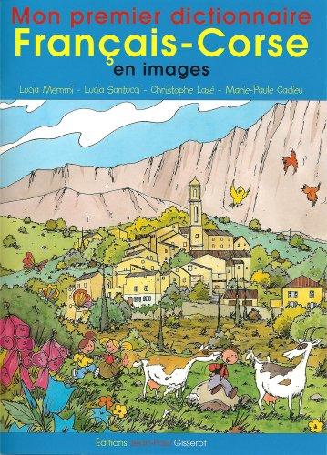 Mon premier dictionnaire français-corse