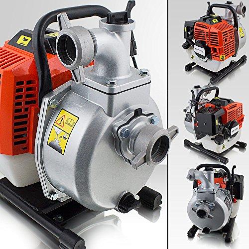 BITUXX® 1,7 PS Benzin Wasserpumpe Motorpumpe Garten Benzinwasserpumpe Gartenpumpe Wasser Pumpe Pumphöhe:35m Ansaughöhe:8m Fördermenge:15m³/h
